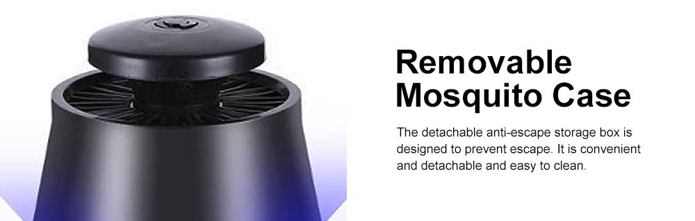 LED Mosquito Killer Light Non-Toxic Odorless ABS Household Light Touch Mosquito Lamp USB Mosquito Lamp 4
