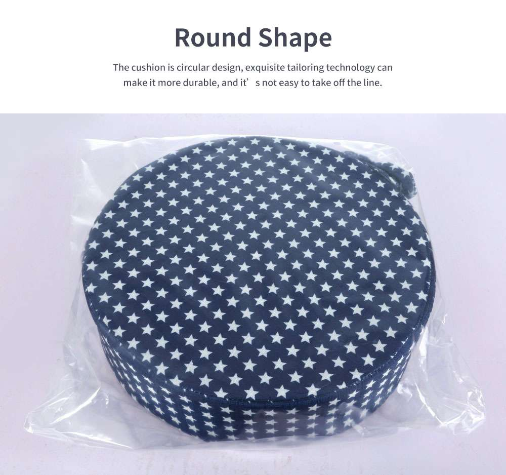 Seat Cushion Cotton Material Round Shape Seat-worm Soft Saddle Elastics for Kids with Banding Seating Washer 4