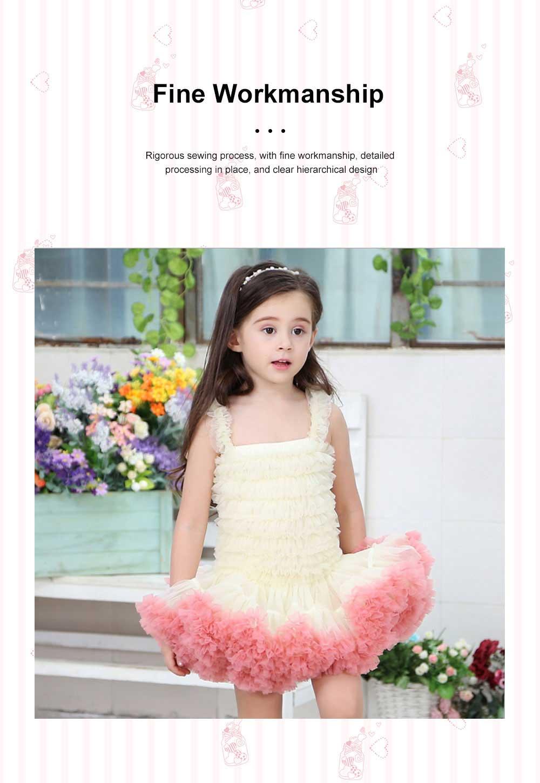 Delicate Gorgeous Girls Tutu Dress Children's Dresses Tutu Princess Mesh Skirt Kids Mini Dress 3