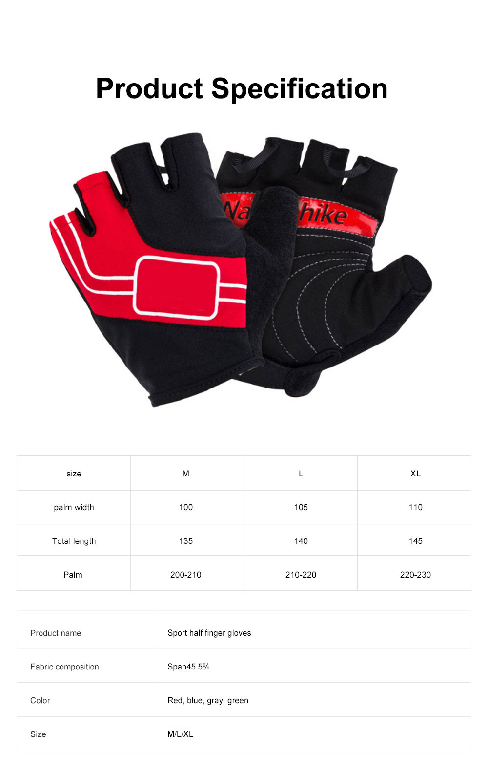 Outdoor Sport Racing Shock-proof Mountain Bike Cycling Gloves for Women Men Half Finger Breathable Bike Riding Anti-slip Cycle Bicycle Gloves 7