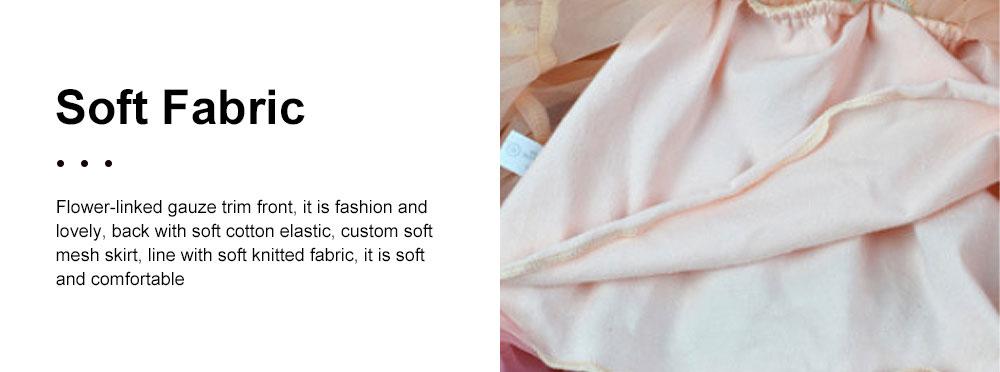 Delicate Gorgeous Girls Tutu Dress Children's Dresses Tutu Princess Mesh Skirt Kids Mini Dress 4
