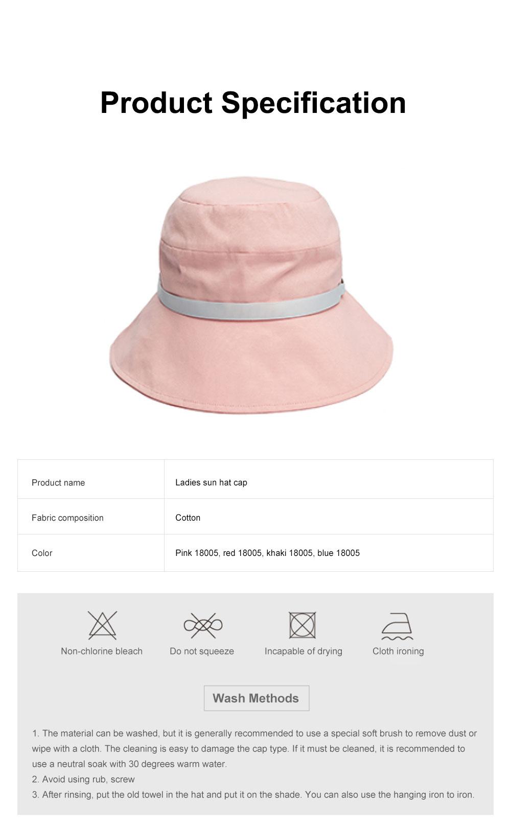 Ladies Sun Hat Cap Female Summer Sunscreen Anti-UV Foldable Outdoor Visor For Women Traveling 6