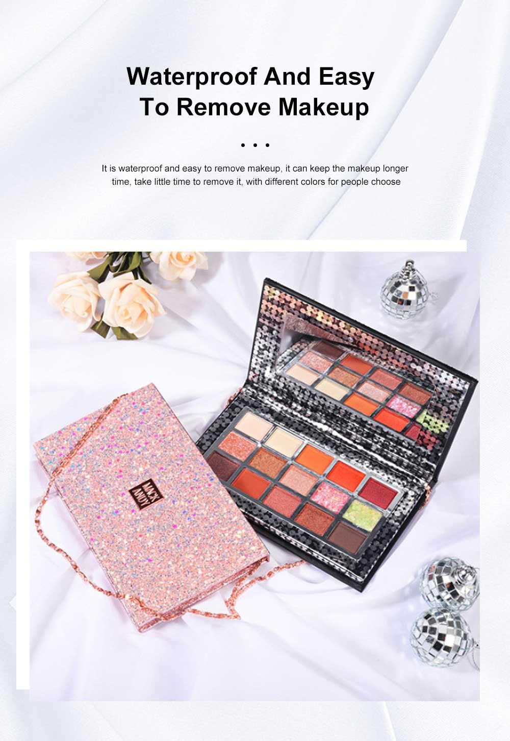 Cosmetics Makeup 15 Color Glitter Eyeshadow Waterproof Easy Clean Palette Eye Shadow Make Up Palettes 4