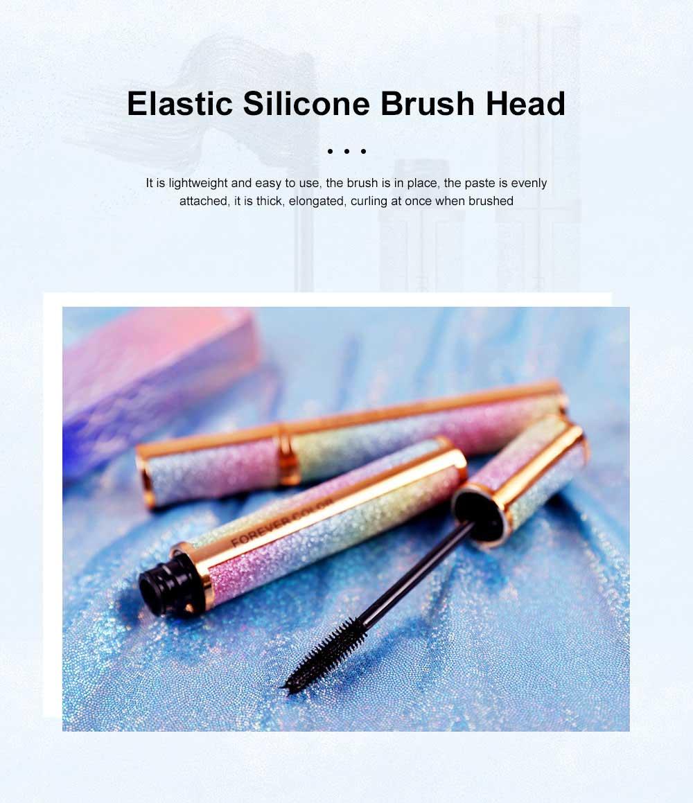 Makeup Cosmetics Eye Lash Black Waterproof Lasting Quick Dry Long And Curl Anti-sweat Easy Remove Fiber Mascara 4