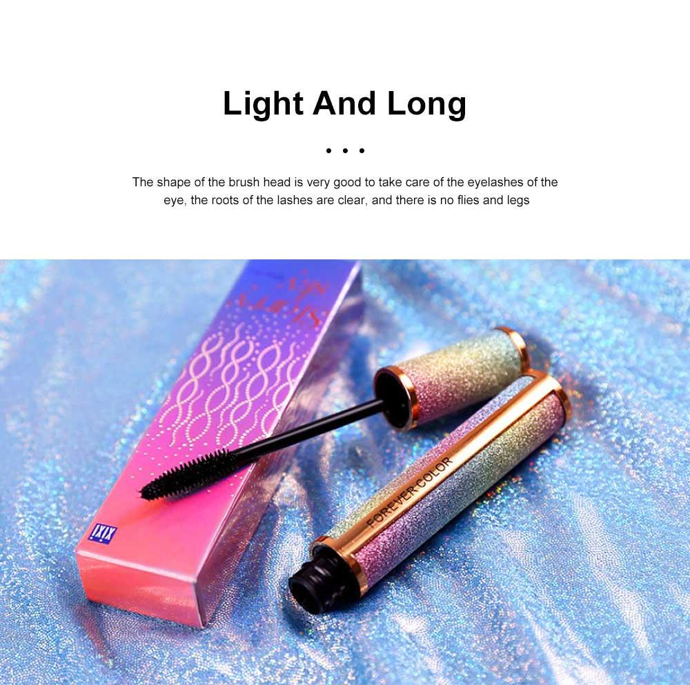 Makeup Cosmetics Eye Lash Black Waterproof Lasting Quick Dry Long And Curl Anti-sweat Easy Remove Fiber Mascara 5