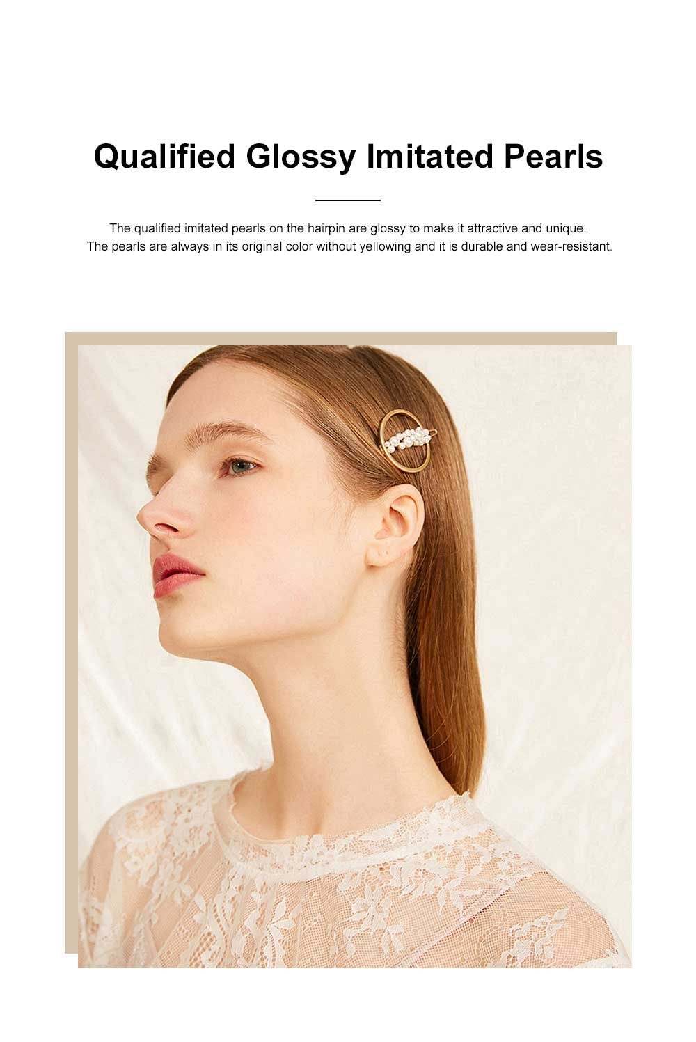 Creative Shape Hairpin Imitated Pearl Alloy Glossy Hair Grip for Girls Gold-plated Hair Accessories Starry Tuck Comb Side Hair Clip 2020 1
