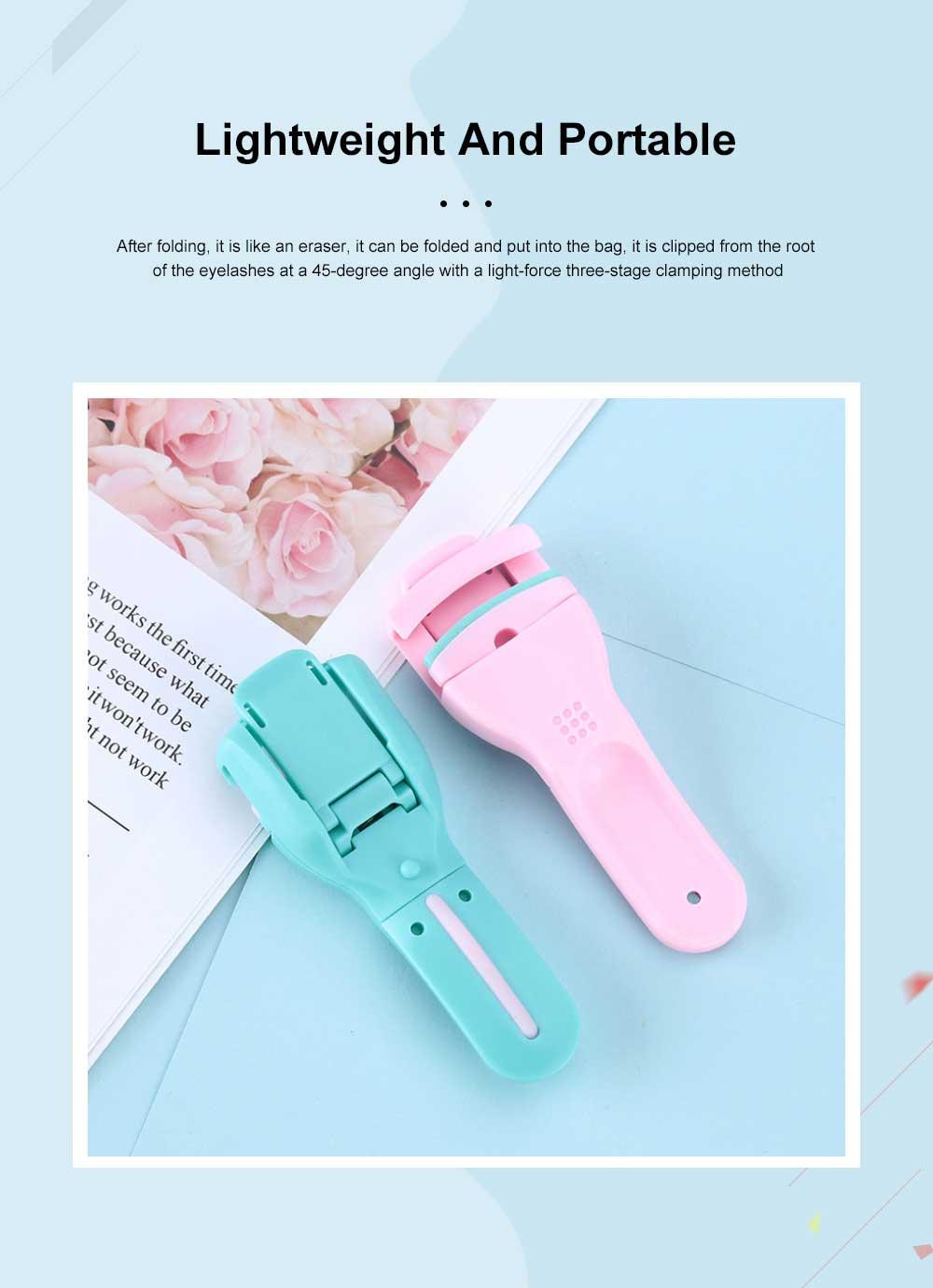 Silicone Eyelash Curler False Eyelash Extension Applicator Tool, Wholesale Portable Lightweight Bling Eyelash Curler 3
