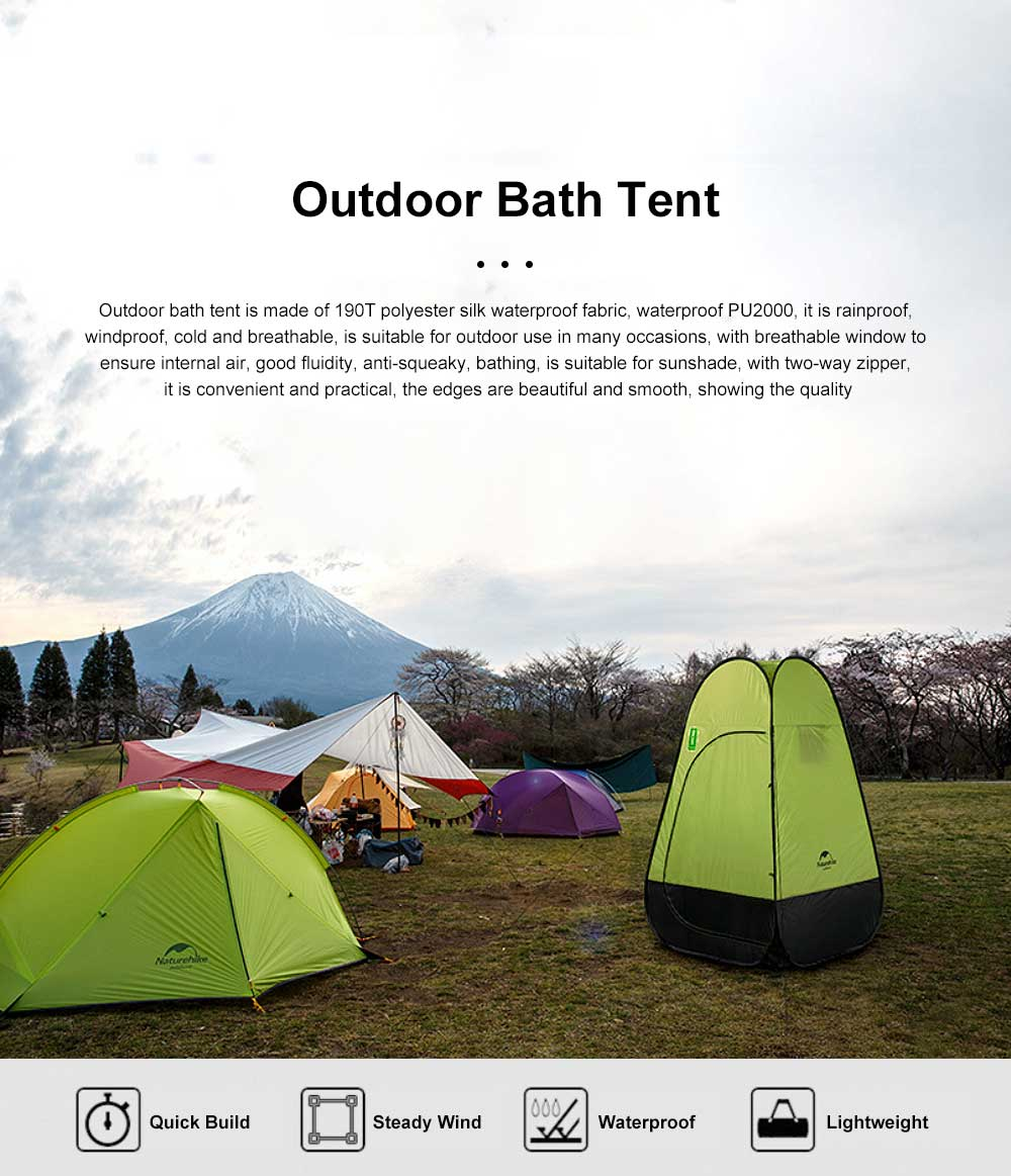 Outdoor Toilet Shower Bath Dressing Tent Beach Douche Room Restroom Portable Private Travel Waterproof Moveable Camping Tent 0