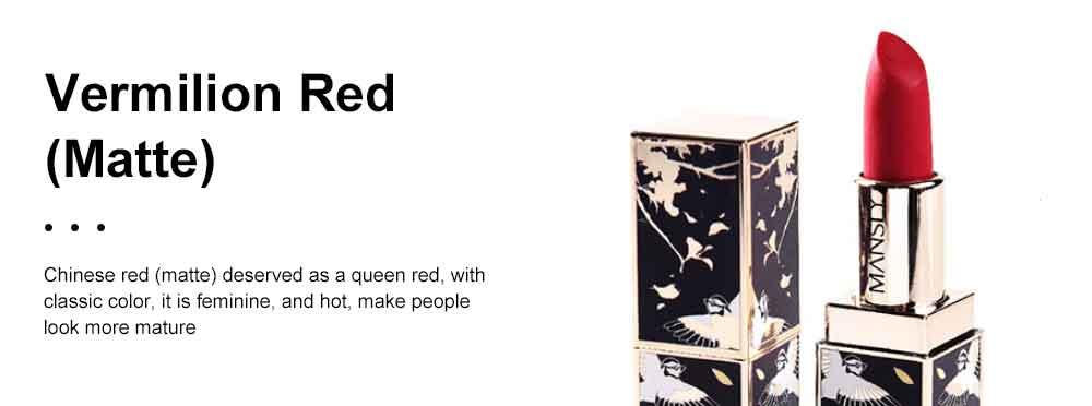 Chinese Palace Classic Style Non-stick Matte Makeup Lip Gloss Waterproof Long Lasting Private Label Lipstick Box Sets 5