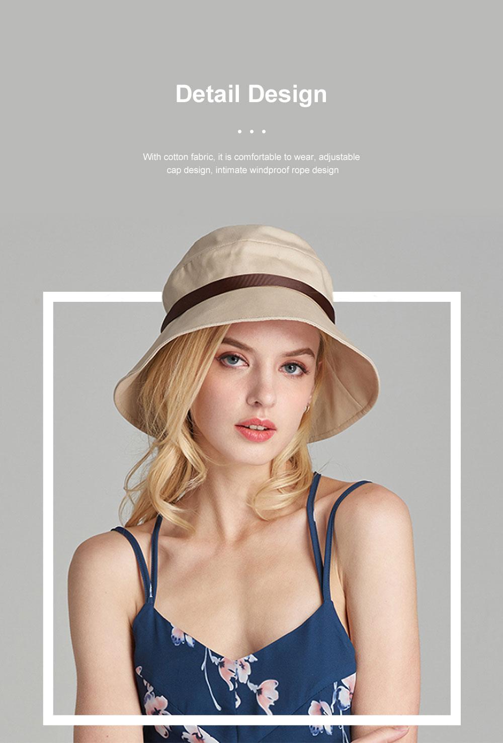 Ladies Sun Hat Cap Female Summer Sunscreen Anti-UV Foldable Outdoor Visor For Women Traveling 3