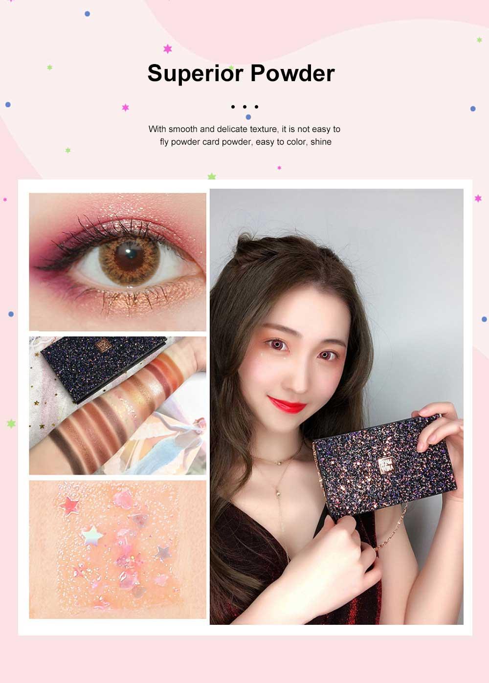 Cosmetics Makeup 15 Color Glitter Eyeshadow Waterproof Easy Clean Palette Eye Shadow Make Up Palettes 3