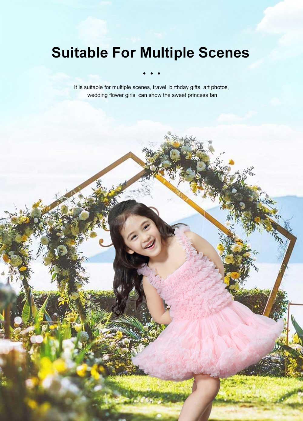 Delicate Gorgeous Girls Tutu Dress Children's Dresses Tutu Princess Mesh Skirt Kids Mini Dress 1