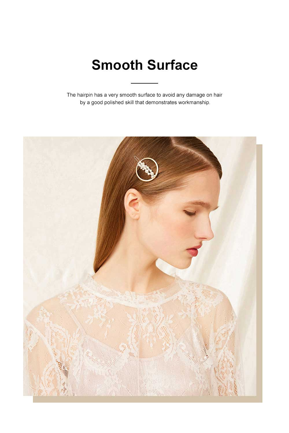 Creative Shape Hairpin Imitated Pearl Alloy Glossy Hair Grip for Girls Gold-plated Hair Accessories Starry Tuck Comb Side Hair Clip 2020 3