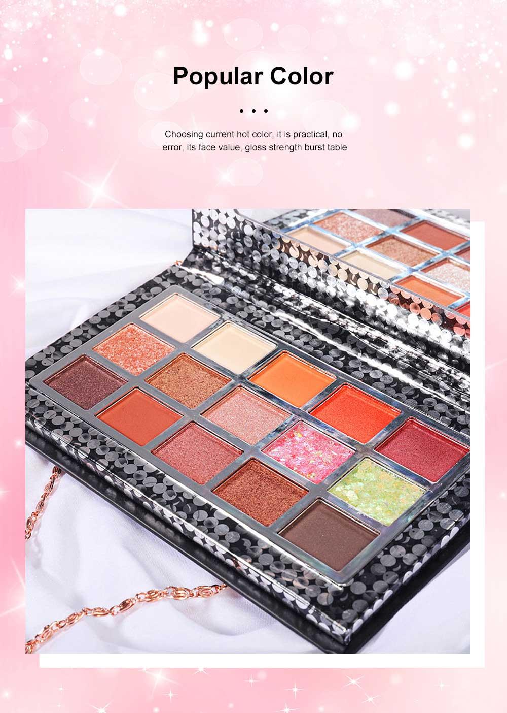 Cosmetics Makeup 15 Color Glitter Eyeshadow Waterproof Easy Clean Palette Eye Shadow Make Up Palettes 1