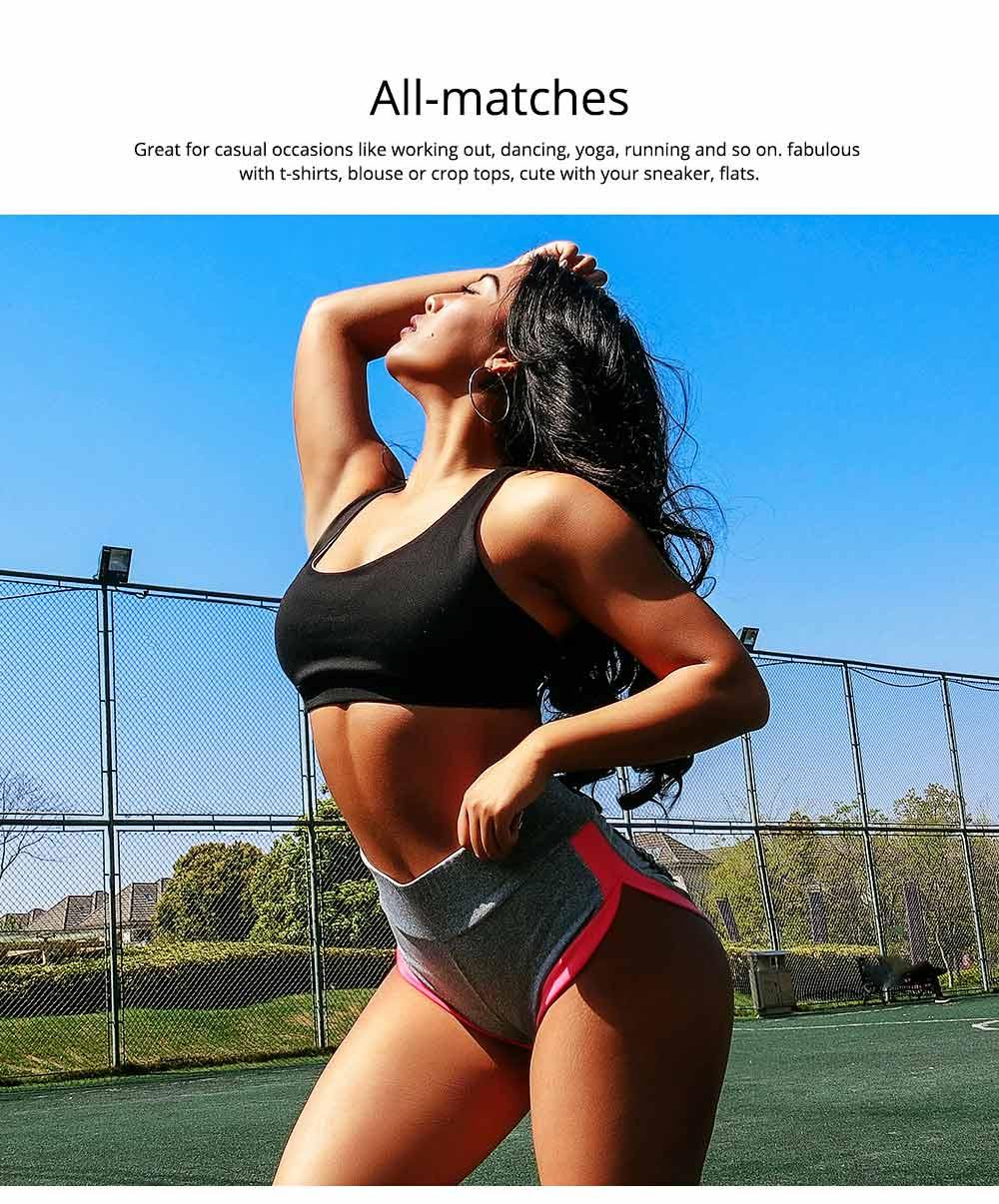 Women Workout Running Shorts Breathable Active Yoga Gym Sport Shorts Fashion Sportswear 5
