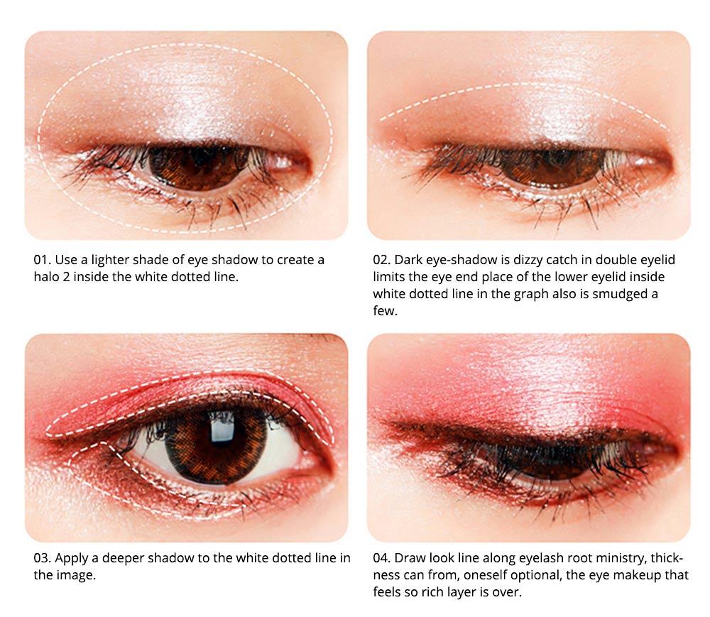 8 Colors Eye Shadow Palette, Waterproof Long Lasting Makeup Eyeshadow Palette, Colorful Cosmetics 3