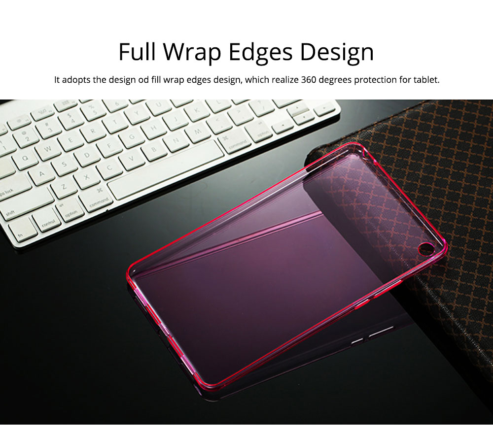 Transparent Protective TPU Case for Xiaomi Tablet, Ultra-thin Shockroof Case for Xiaomi Pad 2 3, Xiaomi Pad 1, Xiaomi Pad 4 4Plus 1