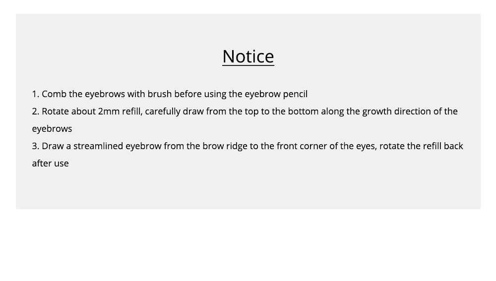Double-Head Rotated Eyebrow Pencil, Eyebrow Pencil with a Brush 4 Colors Available 9