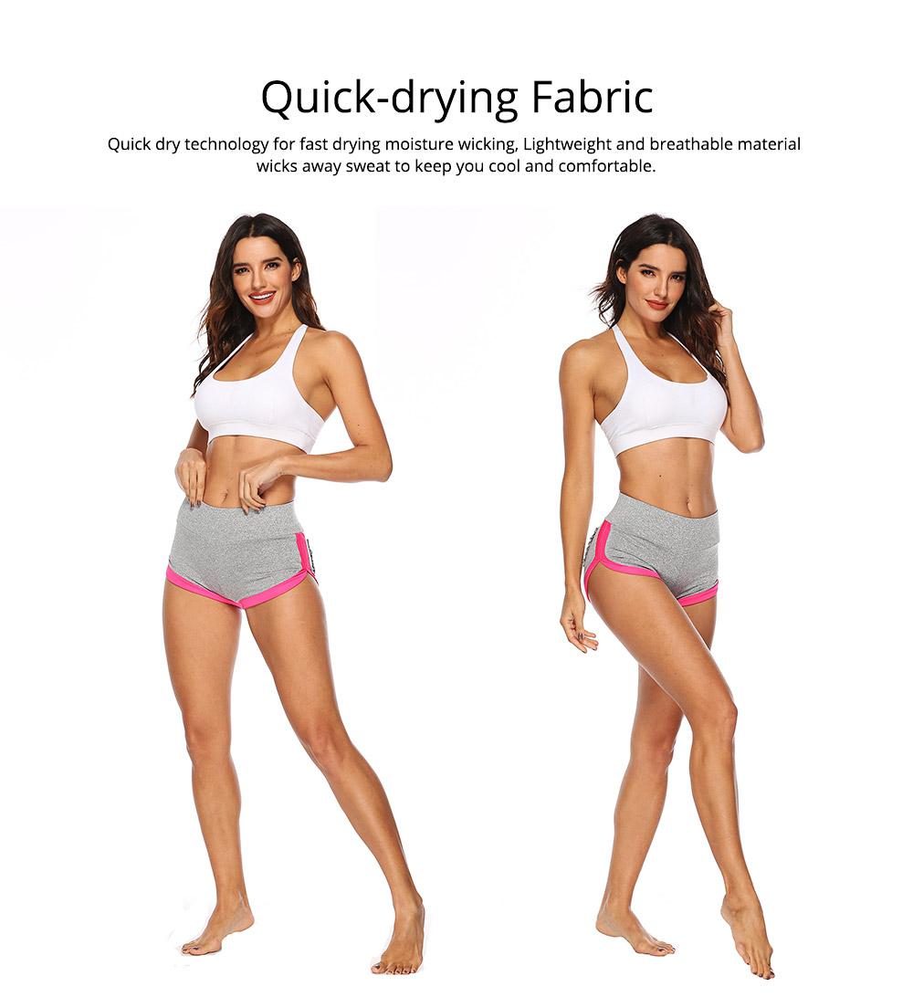Women Workout Running Shorts Breathable Active Yoga Gym Sport Shorts Fashion Sportswear 4