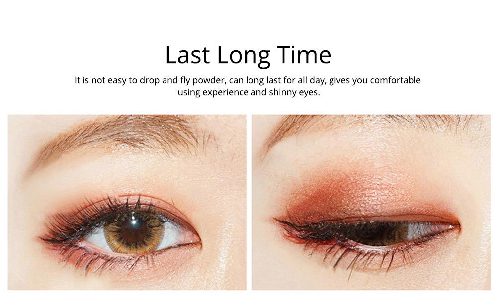 8 Colors Eye Shadow Palette, Waterproof Long Lasting Makeup Eyeshadow Palette, Colorful Cosmetics 1