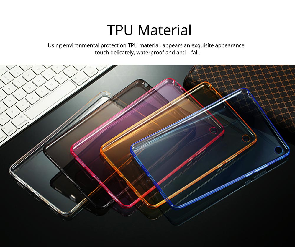 Transparent Protective TPU Case for Xiaomi Tablet, Ultra-thin Shockroof Case for Xiaomi Pad 2 3, Xiaomi Pad 1, Xiaomi Pad 4 4Plus 2