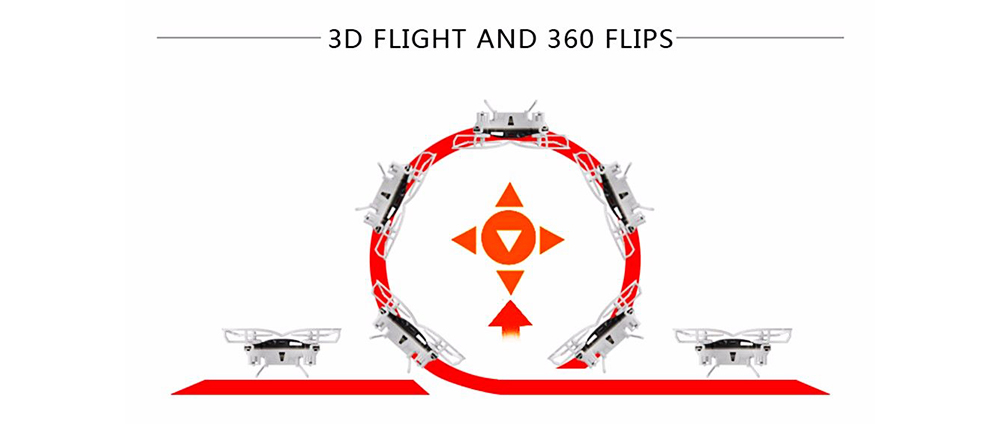 Portable Remoted Control Aircraft Easy Operation for Beginners, Mini Foldable Selfie RC Drones with Camera 5