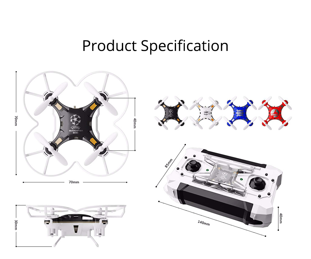 Portable Remoted Control Aircraft Easy Operation for Beginners, Mini Foldable Selfie RC Drones with Camera 11