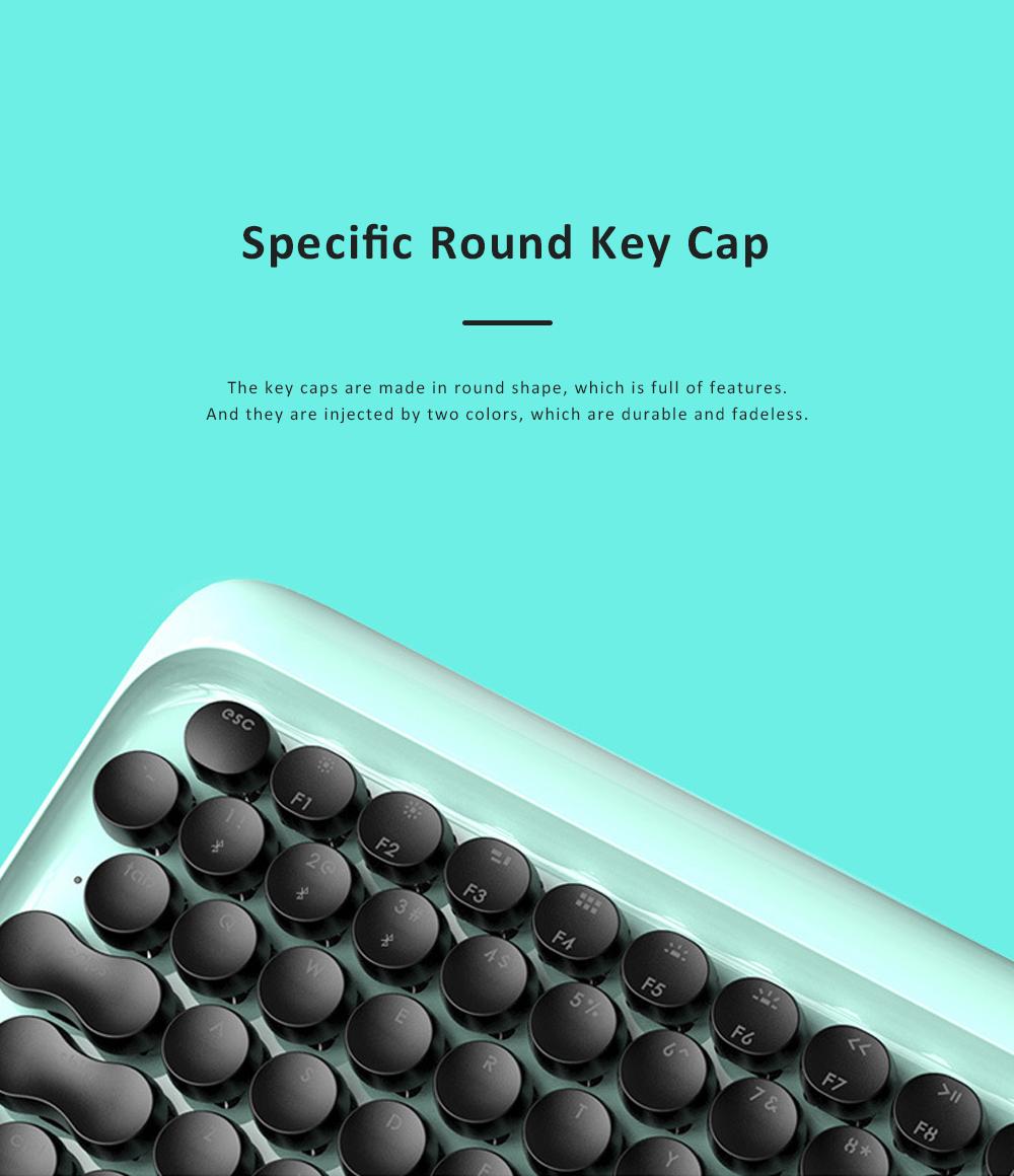 LOFREE Bluetooth Keyboard Retro Style Lofree Dot Mechanical Wireless Keyboard 1