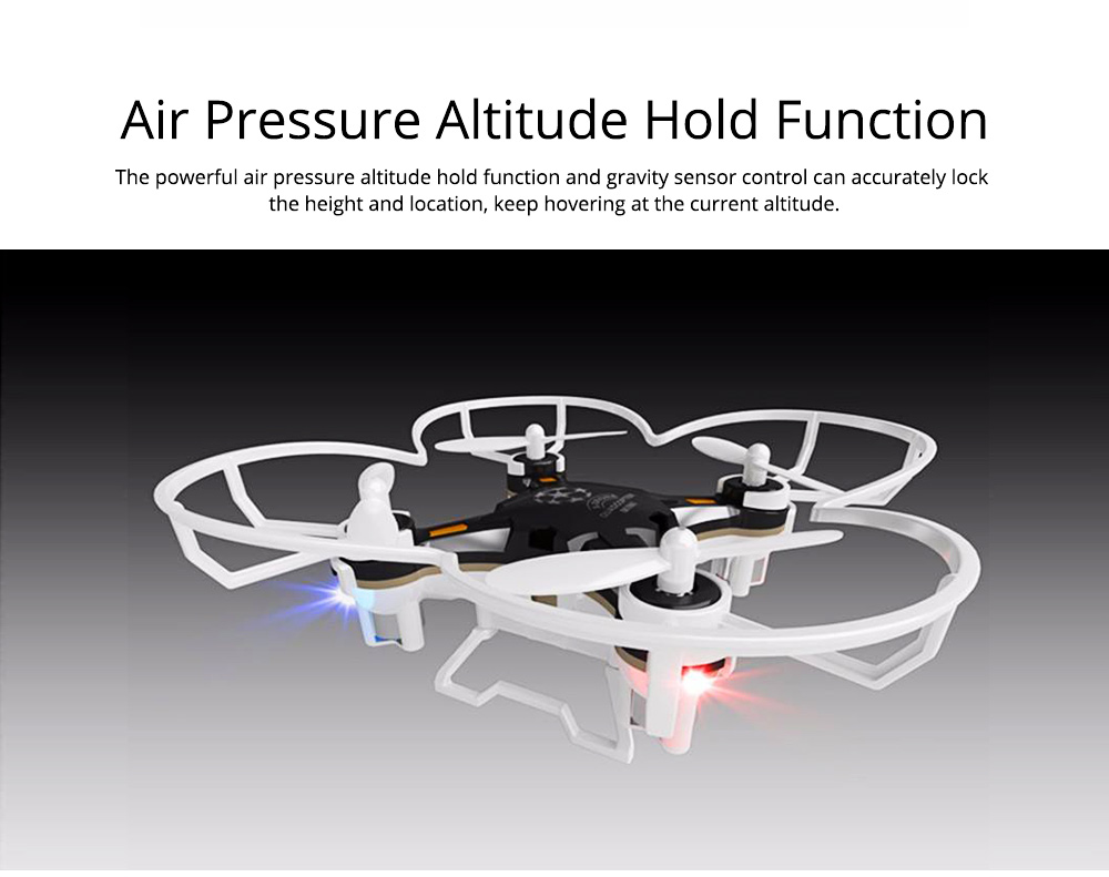 Portable Remoted Control Aircraft Easy Operation for Beginners, Mini Foldable Selfie RC Drones with Camera 6