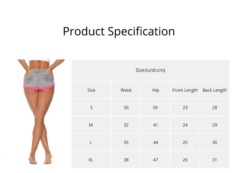Women Workout Running Shorts Breathable Active Yoga Gym Sport Shorts Fashion Sportswear 6