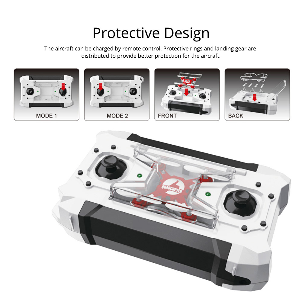 Portable Remoted Control Aircraft Easy Operation for Beginners, Mini Foldable Selfie RC Drones with Camera 9