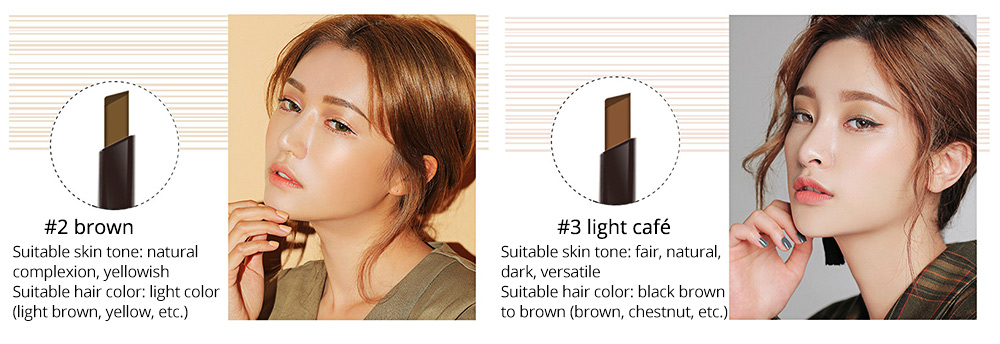 Double-Head Rotated Eyebrow Pencil, Waterproof Eyebrow Pencil, Eyebrow Pencil with a Brush NOVO 5 Colors Available 6