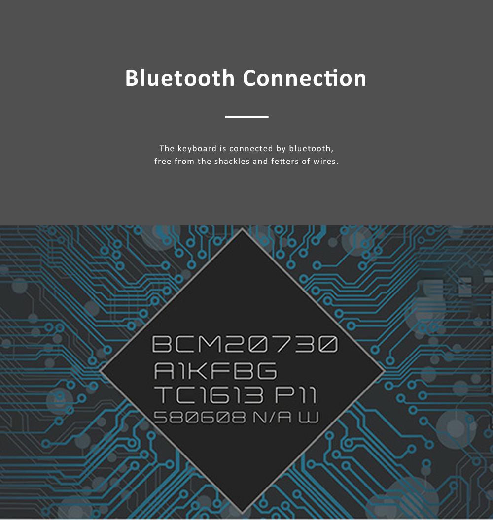 LOFREE Bluetooth Keyboard Retro Style Lofree Dot Mechanical Wireless Keyboard 4