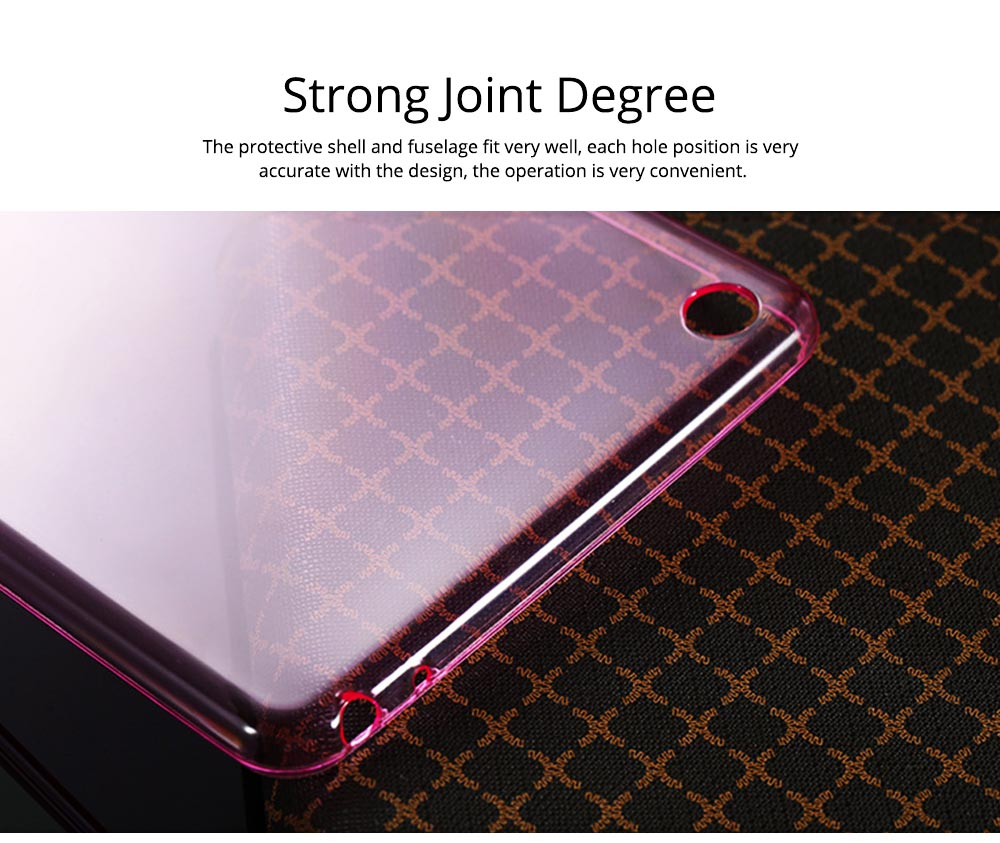 Transparent Protective TPU Case for Xiaomi Tablet, Ultra-thin Shockroof Case for Xiaomi Pad 2 3, Xiaomi Pad 1, Xiaomi Pad 4 4Plus 4