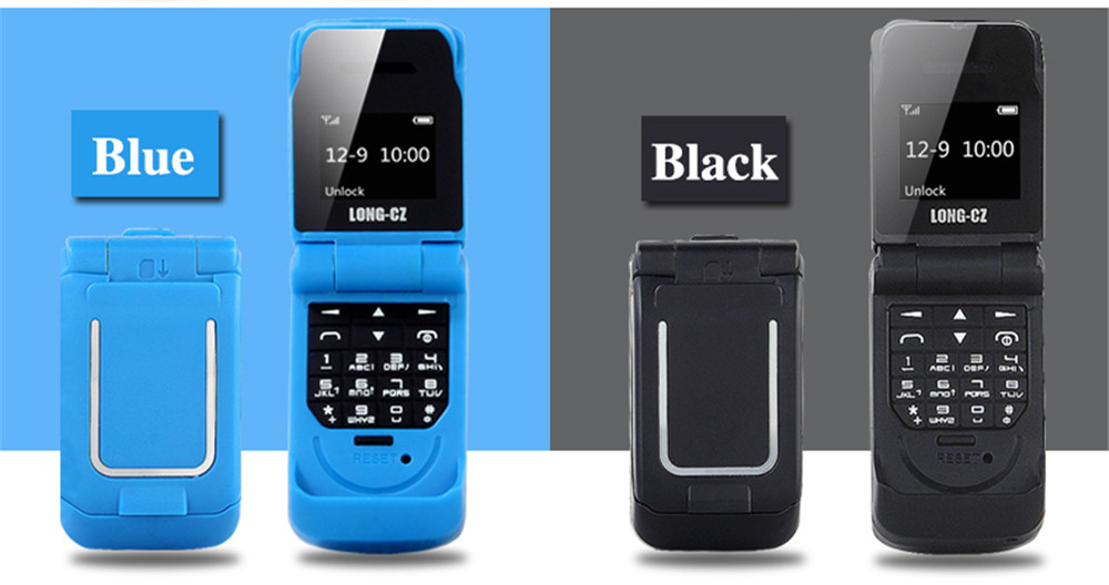 Tinkleo J9 Mini Bluetooth Flip Phone with 0.66 Inch Screen HD Screen FM MP3 Clock Magic Voice  34