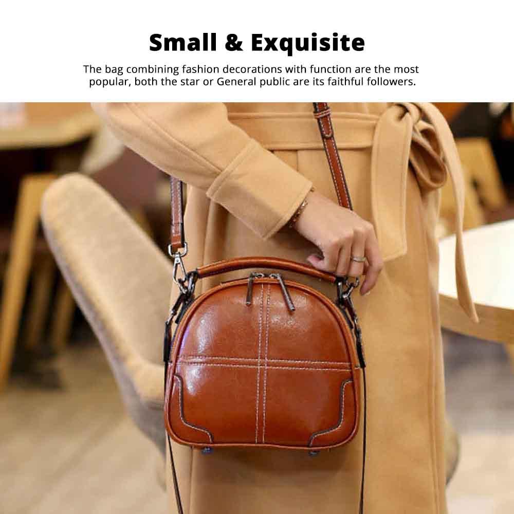 2020 Mini Fashion Brand Women Bag Small Soft Cross Body Retro Bag Female Shoulder Handbags Portable Ladies Messenger Bags 4