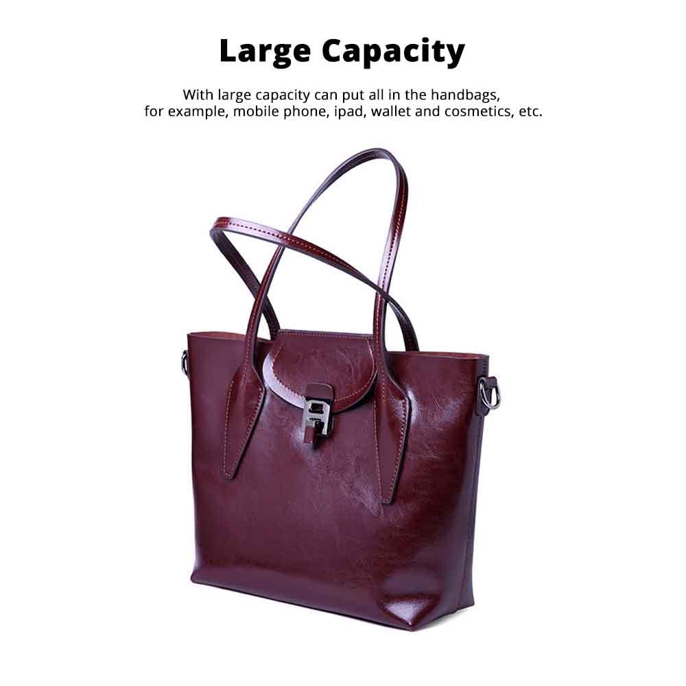2019 Fashion Casual Women Large Bags Retro Hand-Held Bag Ladies Single Shoulder Classical Female Handbags 2