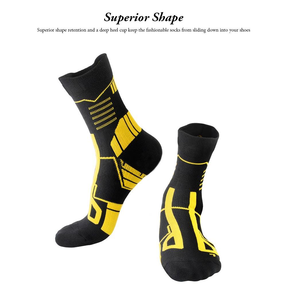 Sports Sucks for Hiking, Cycling, Running, Anti-bacterial Sports Socks for Men Women Unisex Digital Printing Socks 3
