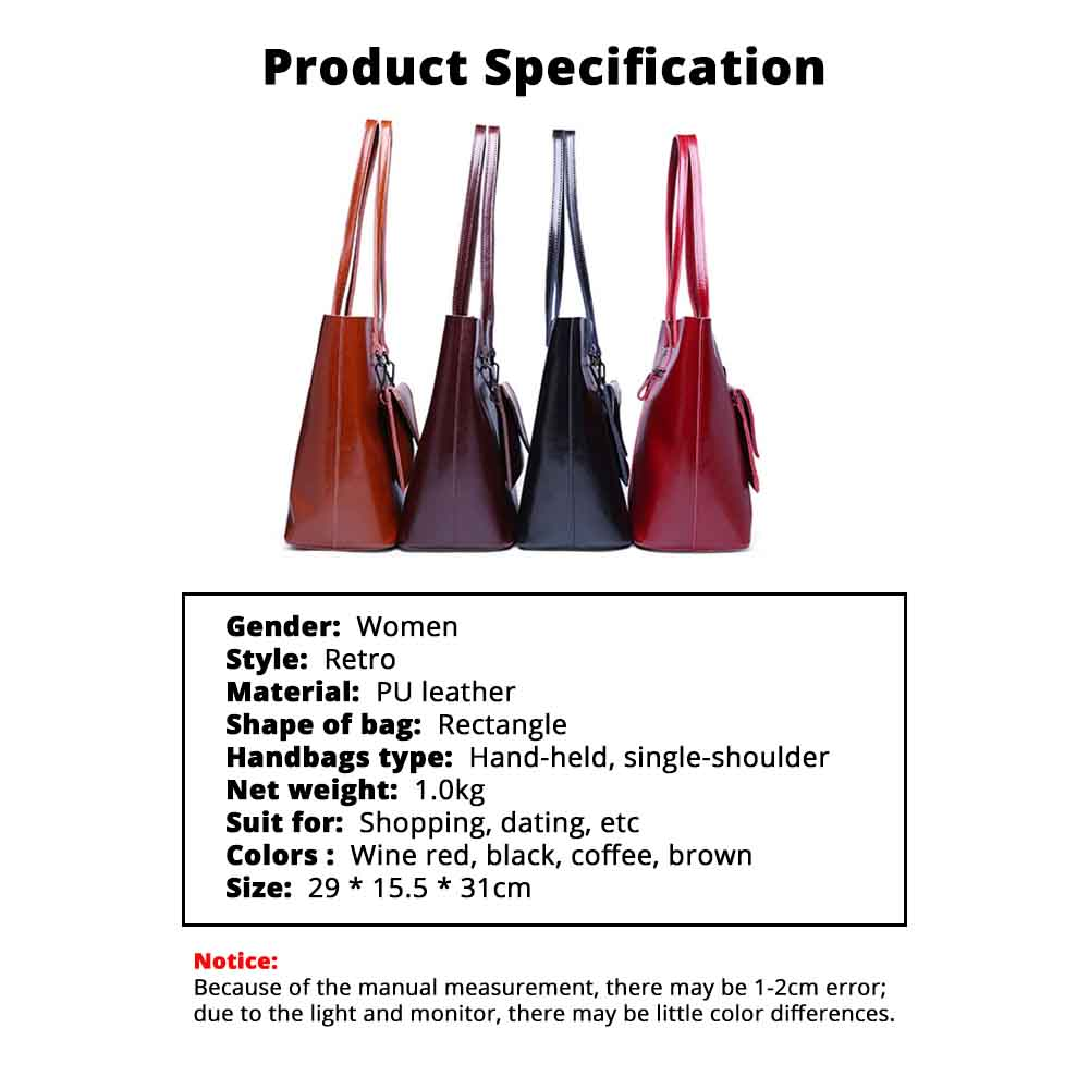 Female Bucket Bags Women Fashion Casual Single Shoulder Bags Ladies Large Bag with Mini Handbags 2020 6