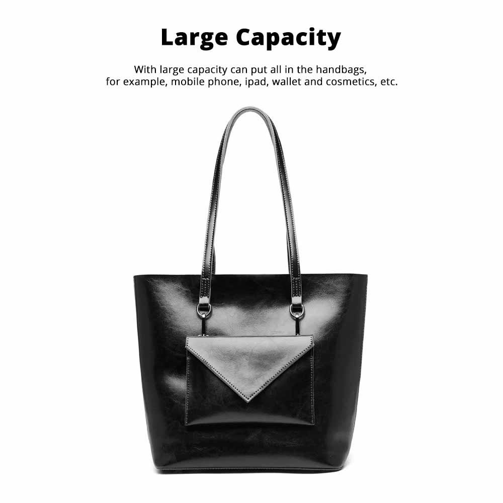 Female Bucket Bags Women Fashion Casual Single Shoulder Bags Ladies Large Bag with Mini Handbags 2020 2