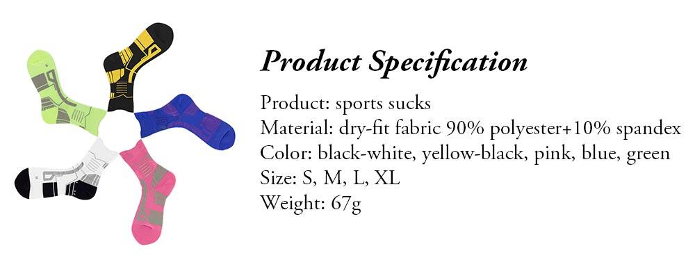 Sports Sucks for Hiking, Cycling, Running, Anti-bacterial Sports Socks for Men Women Unisex Digital Printing Socks 6