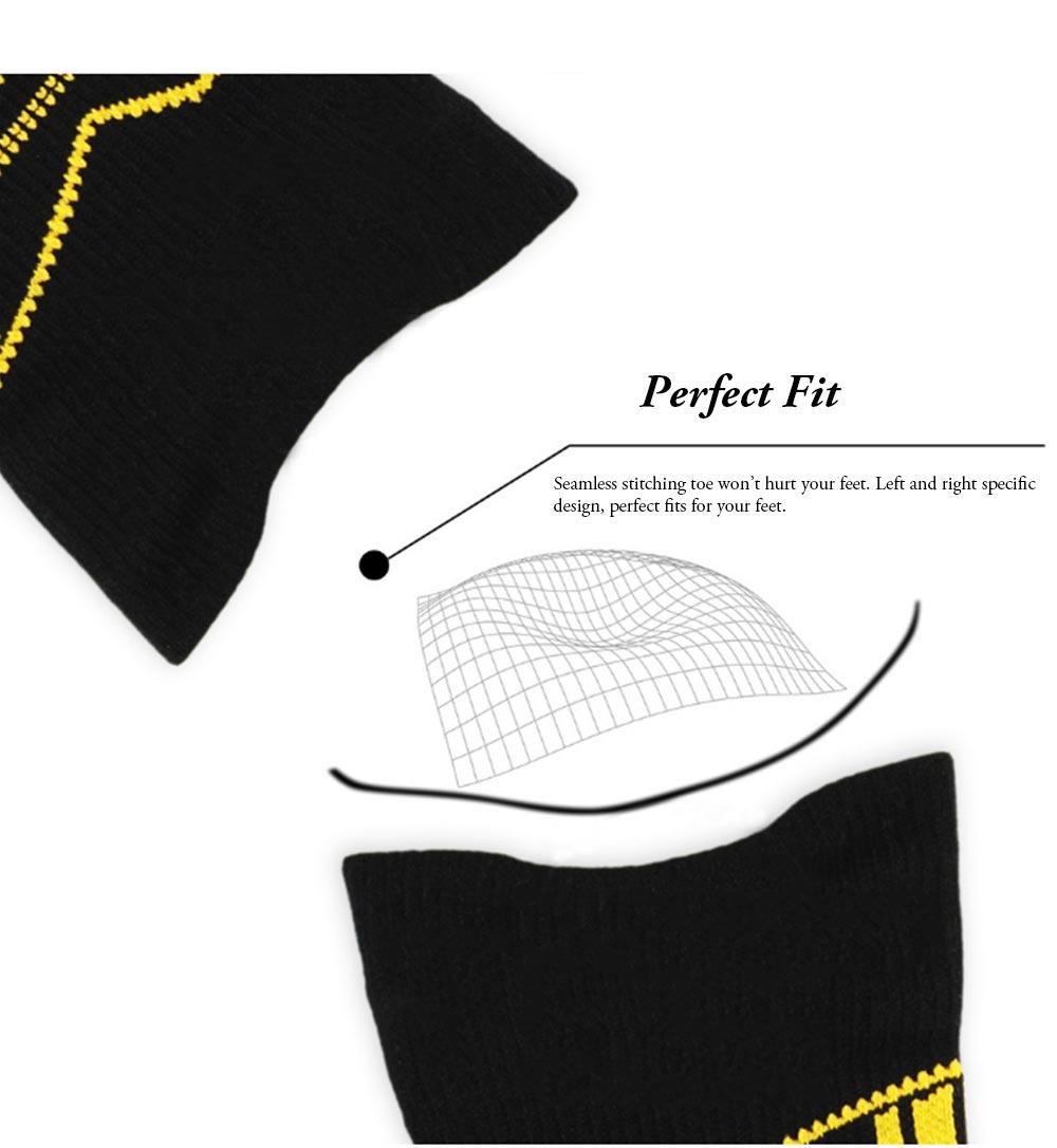 Sports Sucks for Hiking, Cycling, Running, Anti-bacterial Sports Socks for Men Women Unisex Digital Printing Socks 4