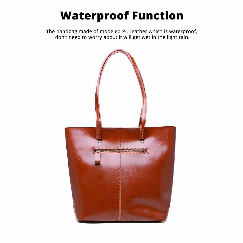 Female Bucket Bags Women Fashion Casual Single Shoulder Bags Ladies Large Bag with Mini Handbags 2020 5