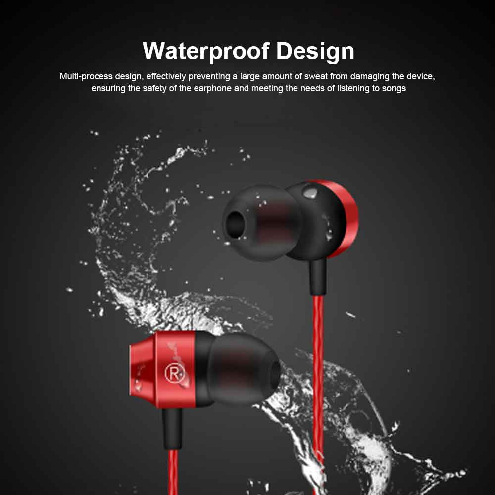 Binaural Sports Bluetooth Headset, 4.1 In-ear With Magnetic Hanging Neck, Charging Bluetooth Headset 3