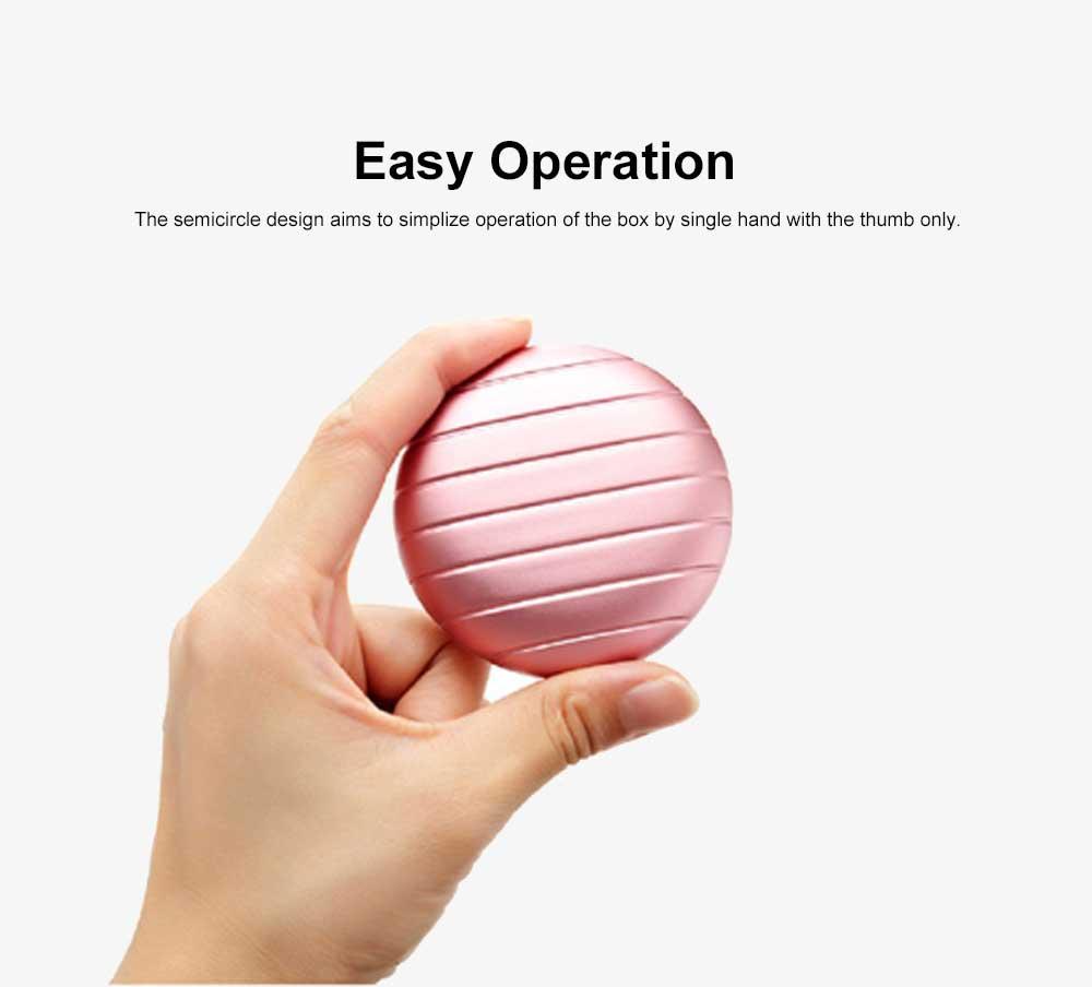 Portable Mini Medicine Box for Medicines or Pills Storage Stylish Small Size Storage Case Creative Storage Box 2