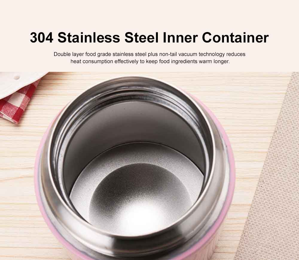 Stainless Steel Braised Beaker for Both Men and Women Portable Boiled Mess Tin Super Long Lunch Box One Piece as Wholesale 3