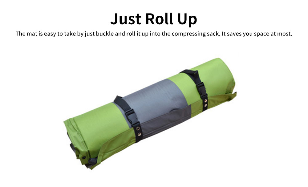 Double Automatic Inflatable Picnic Sleeping Mat with Pillows, Water Resistant & Cold Protection Sleeping Cushion 5