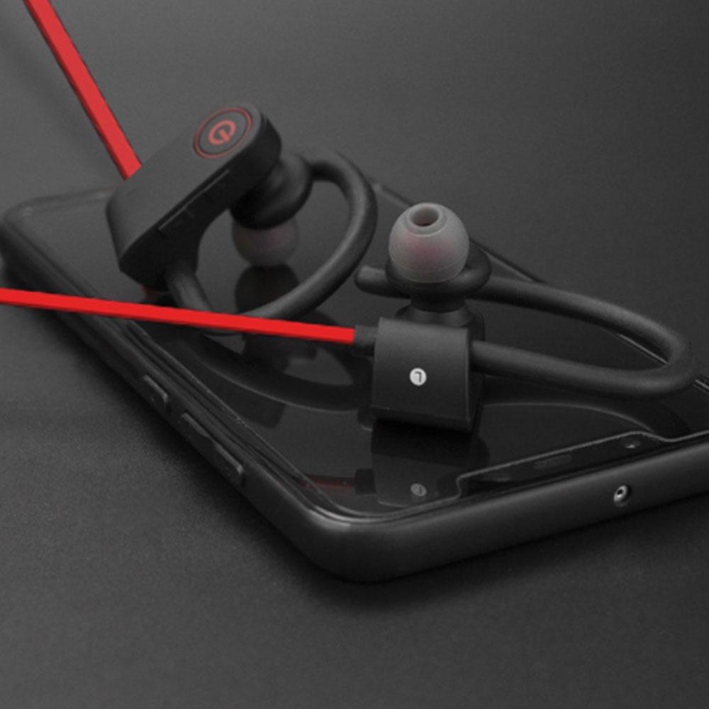 New U8 Wireless Bluetooth Headset, Hanging Ear Running Universal Headphone, Waterproof Earphone 11