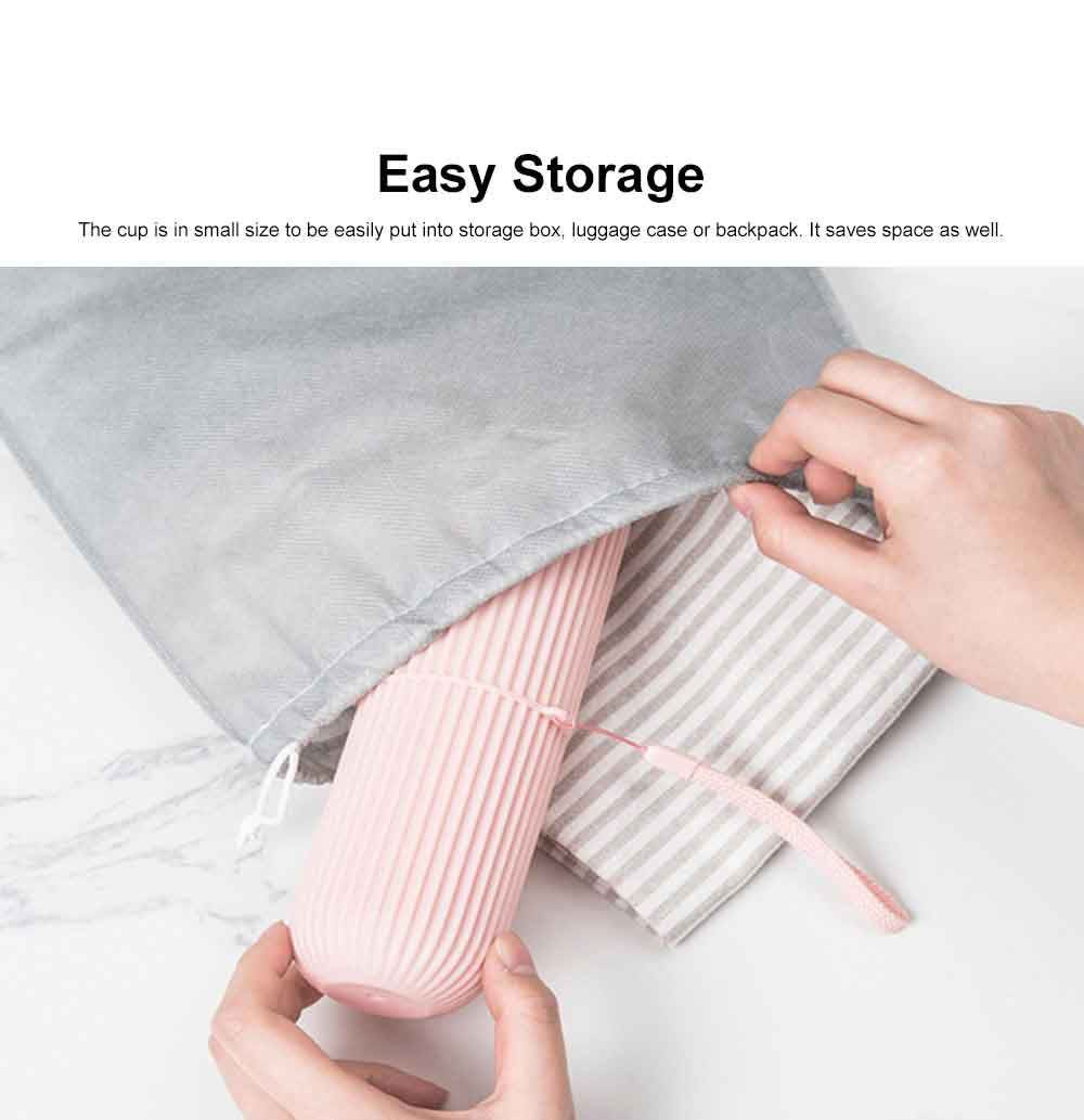 Simple Style Cup for Household or Travel Portable Tooth-brushing Mug Travel Set Couple Cup Household Toothbrush Storage Box 4