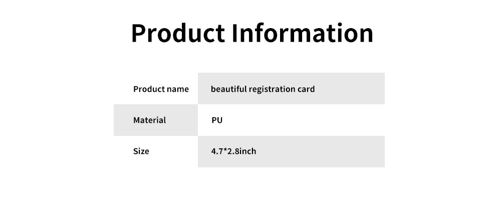 Colorful Special Pattern Luggage Tag, Selected PU Material Baggage Card for Traveler with Colorful Special Pattern 6